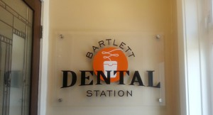 Lobby signs for dental offices in Chicago