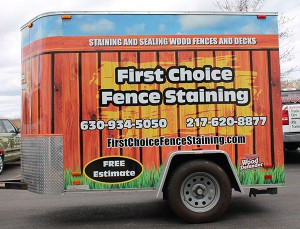 For superior quality vehicle and trailer graphics in Chicago, Contact Us or call (630) 289-7082.