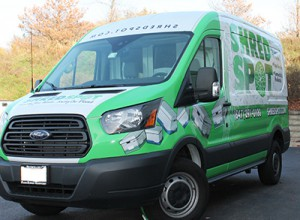 Shred Spot Truck Wrap - front