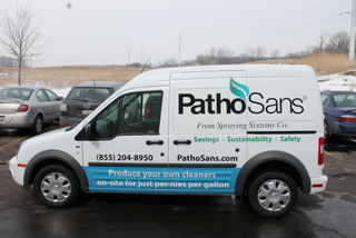 Contractor Vehicle Graphics Chicago IL