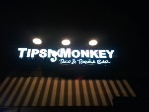 exterior LED sign