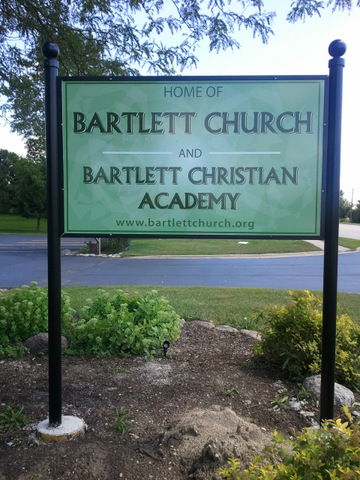 Post and Panel Signs for Chicago Churches
