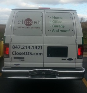 Chicago vehicle graphics and vinyl lettering