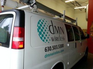 IT Contractor vehicle graphics Chicago