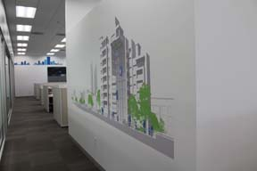 Corporate Wall Graphics Chicago